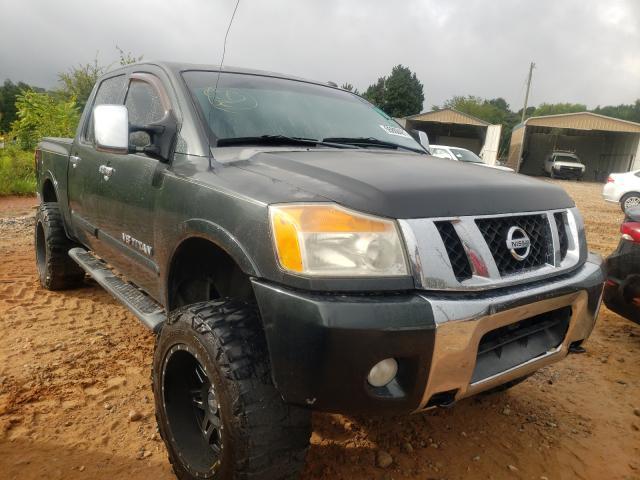 Vehiculos salvage en venta de Copart China Grove, NC: 2008 Nissan Titan XE