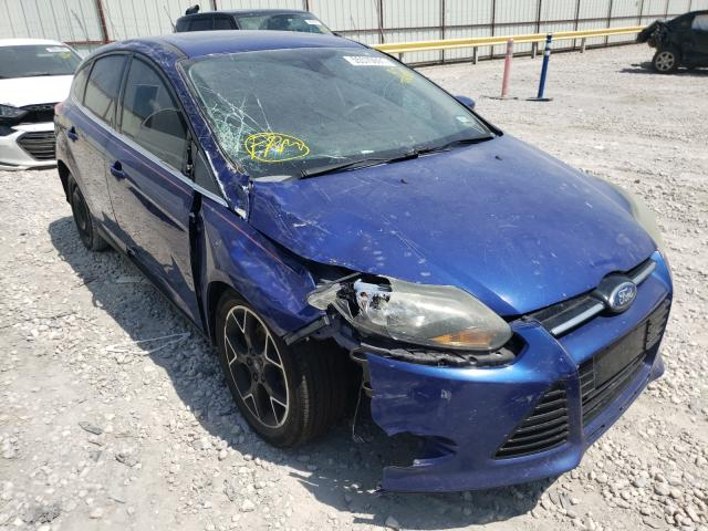 Salvage cars for sale from Copart Haslet, TX: 2012 Ford Focus Titanium