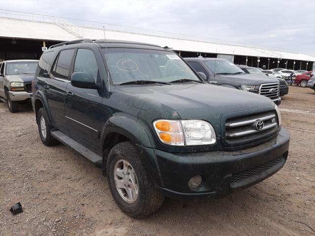 Salvage cars for sale from Copart Phoenix, AZ: 2001 Toyota Sequoia LI