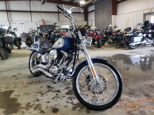 Salvage cars for sale from Copart Chatham, VA: 2009 Harley-Davidson Fxstc