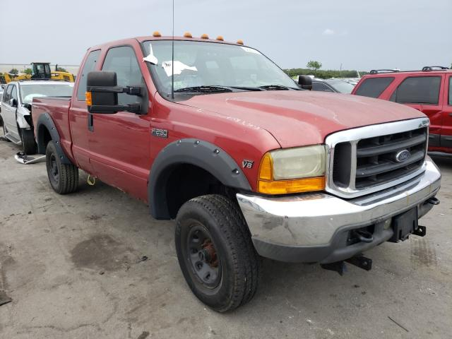 Salvage 2002 FORD F250 - Small image. Lot 56280331