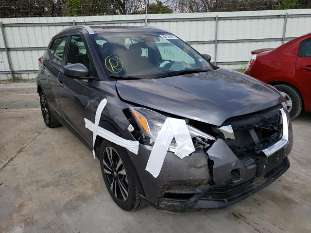 Salvage cars for sale from Copart Corpus Christi, TX: 2020 Nissan Kicks SV