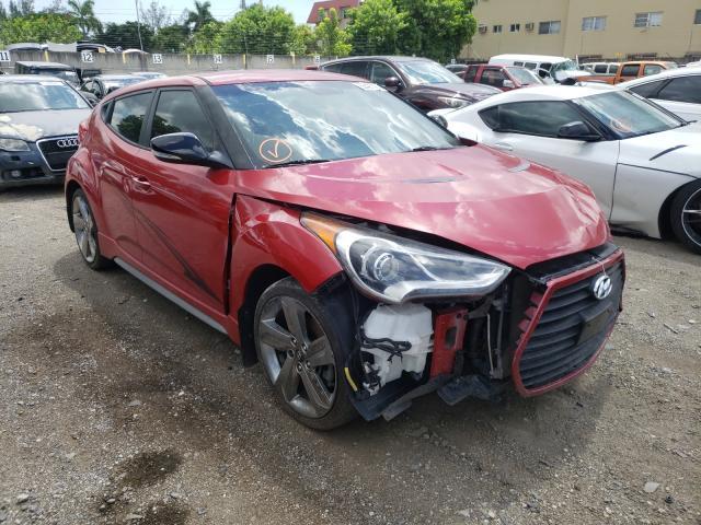 Hyundai salvage cars for sale: 2013 Hyundai Veloster T