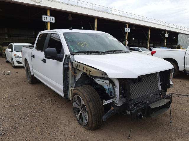 Salvage cars for sale from Copart Phoenix, AZ: 2020 Ford F150 Super