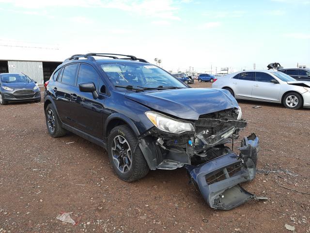 Subaru salvage cars for sale: 2017 Subaru Crosstrek