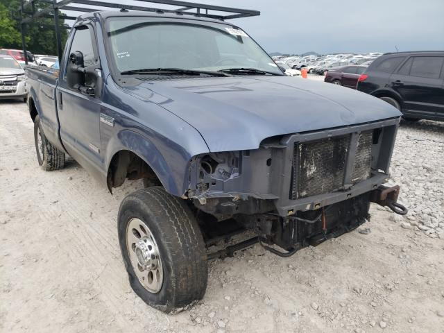 Salvage cars for sale from Copart Madisonville, TN: 2005 Ford F350 SRW S