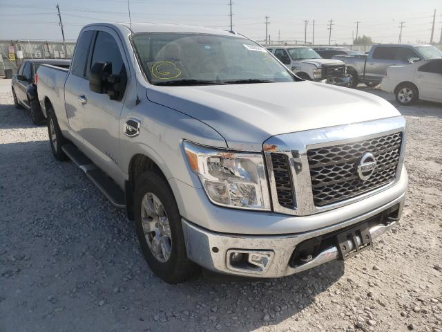Salvage cars for sale from Copart Haslet, TX: 2017 Nissan Titan SV