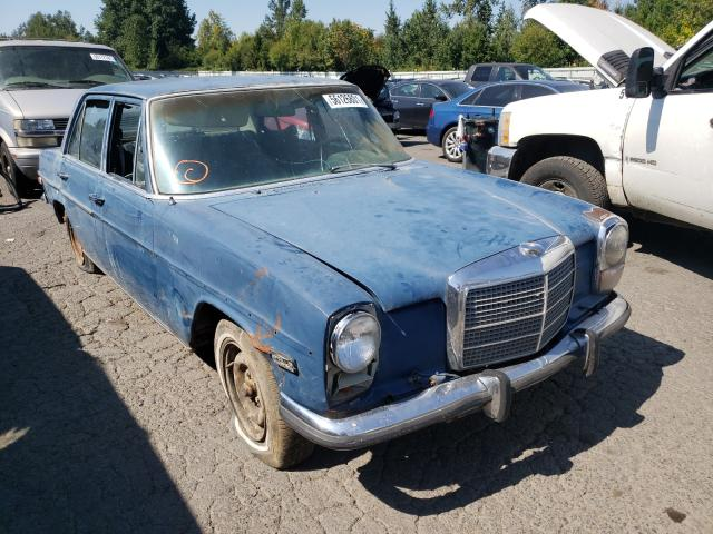 Salvage cars for sale from Copart Portland, OR: 1973 Mercedes-Benz 220D