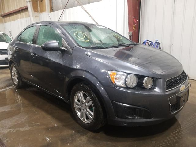 Salvage cars for sale at Anchorage, AK auction: 2013 Chevrolet Sonic LT