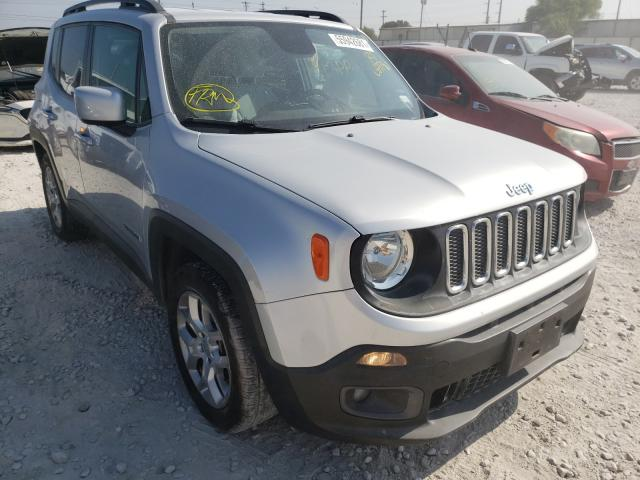 Salvage cars for sale from Copart Haslet, TX: 2016 Jeep Renegade L