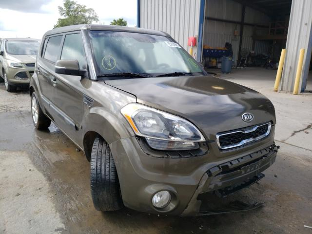 Salvage cars for sale from Copart Sikeston, MO: 2012 KIA Soul +