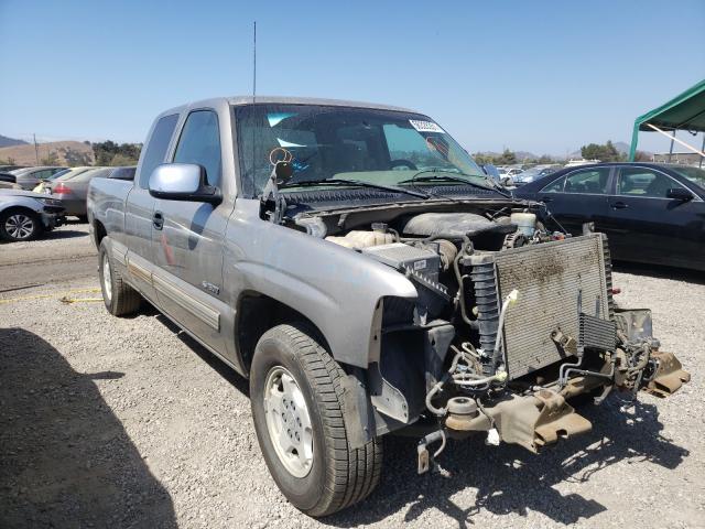 Salvage cars for sale from Copart San Martin, CA: 2002 Chevrolet Silverado