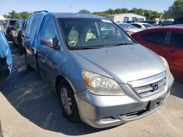 Salvage cars for sale from Copart Glassboro, NJ: 2007 Honda Odyssey EX