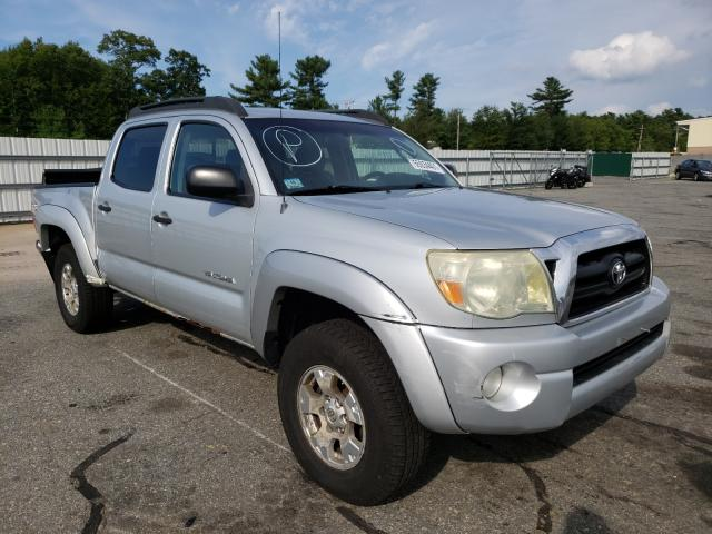 Salvage cars for sale from Copart Exeter, RI: 2006 Toyota Tacoma DOU