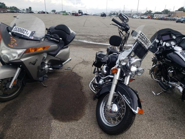Salvage cars for sale from Copart Moraine, OH: 2010 Harley-Davidson Flstc