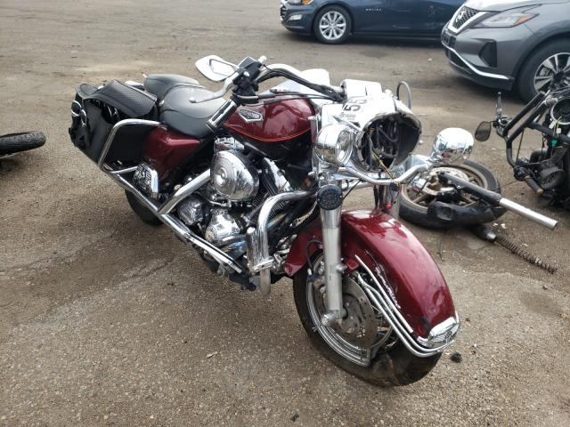 Salvage cars for sale from Copart Denver, CO: 2002 Harley-Davidson Flhrci