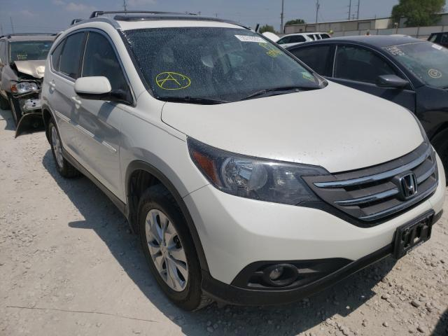 Salvage cars for sale from Copart Haslet, TX: 2013 Honda CR-V EXL