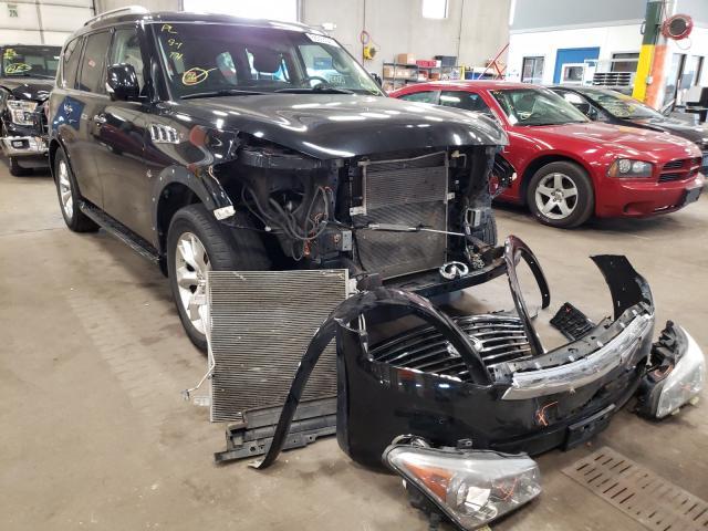 Infiniti QX80 salvage cars for sale: 2014 Infiniti QX80