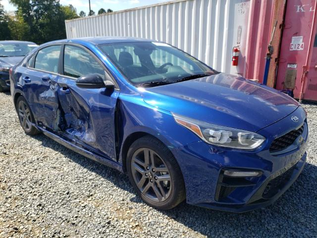 Salvage cars for sale from Copart Concord, NC: 2021 KIA Forte GT L