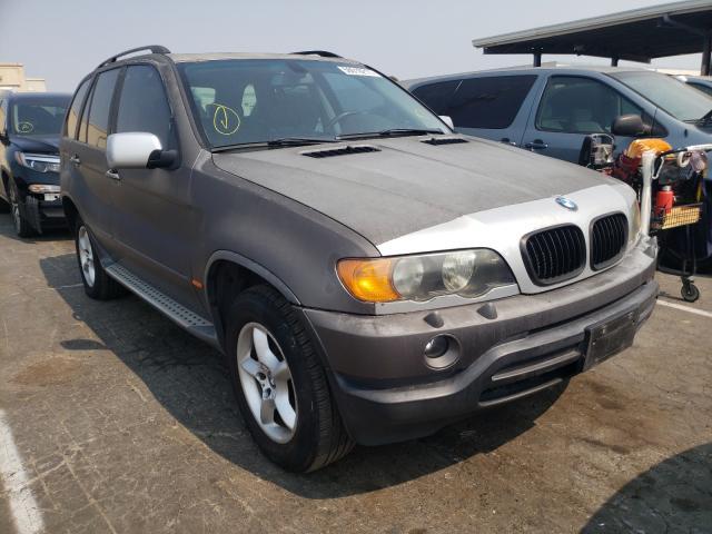 BMW X5 salvage cars for sale: 2003 BMW X5