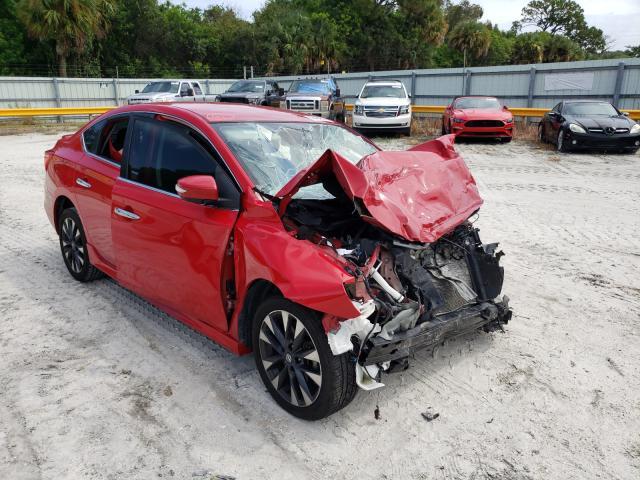 Vehiculos salvage en venta de Copart Fort Pierce, FL: 2017 Nissan Sentra S