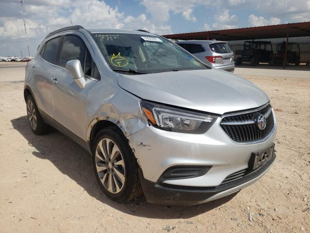 Salvage cars for sale from Copart Andrews, TX: 2019 Buick Encore PRE