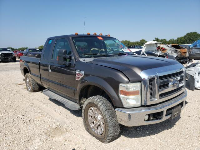 Salvage trucks for sale at Wilmer, TX auction: 2008 Ford F250 Super