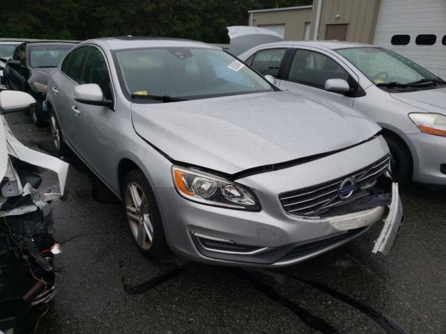 Salvage cars for sale from Copart Exeter, RI: 2014 Volvo S60 T5