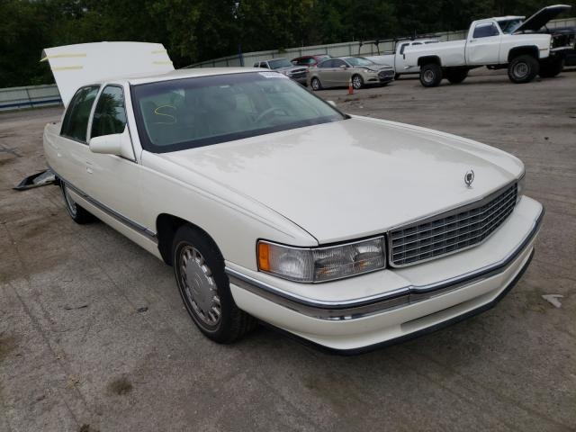 Salvage cars for sale at Ellwood City, PA auction: 1996 Cadillac Deville