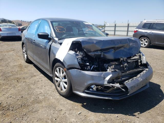 Salvage cars for sale from Copart San Martin, CA: 2015 Volkswagen Jetta SE