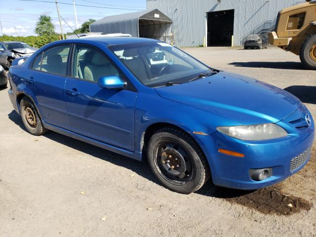 Salvage cars for sale at Montreal Est, QC auction: 2006 Mazda 6 I