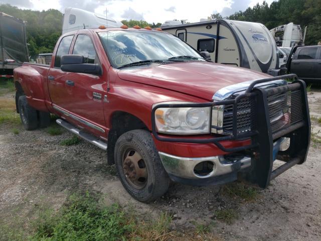 Vehiculos salvage en venta de Copart Savannah, GA: 2008 Dodge RAM 3500 S