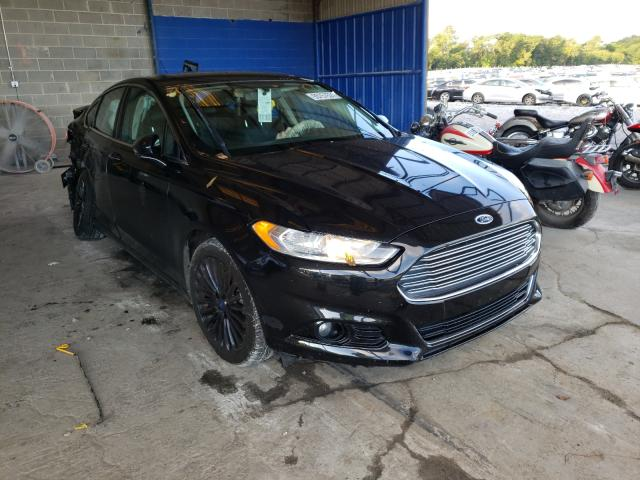 Salvage cars for sale from Copart Cartersville, GA: 2014 Ford Fusion Titanium
