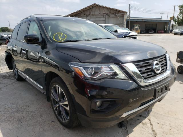 Salvage cars for sale from Copart Corpus Christi, TX: 2019 Nissan Pathfinder