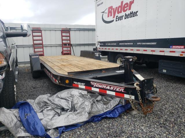 Salvage trucks for sale at Fredericksburg, VA auction: 2017 Towm Trailer