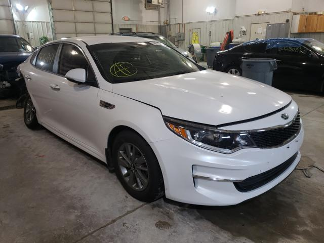 Salvage cars for sale from Copart Columbia, MO: 2016 KIA Optima LX