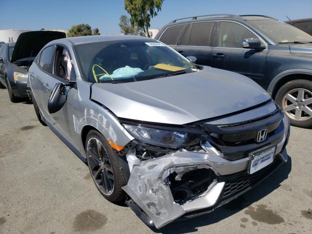 Vehiculos salvage en venta de Copart Martinez, CA: 2021 Honda Civic Sport