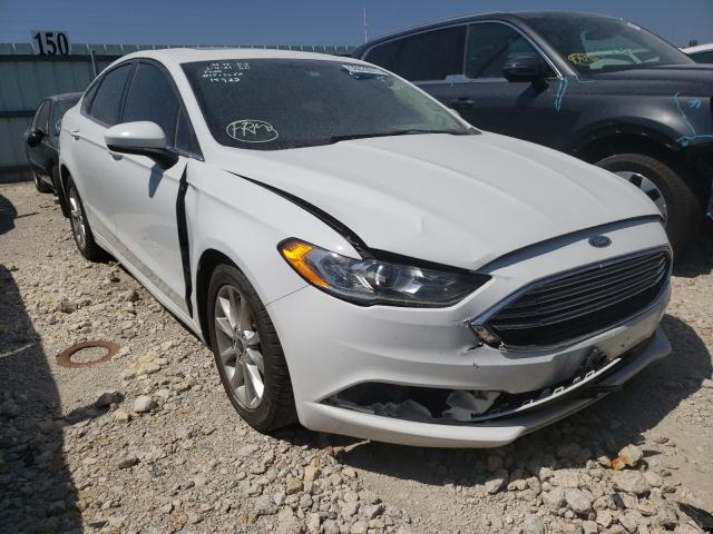 Salvage cars for sale from Copart Haslet, TX: 2017 Ford Fusion SE