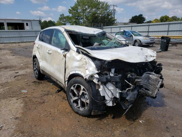 Salvage cars for sale at Florence, MS auction: 2021 KIA Sportage L