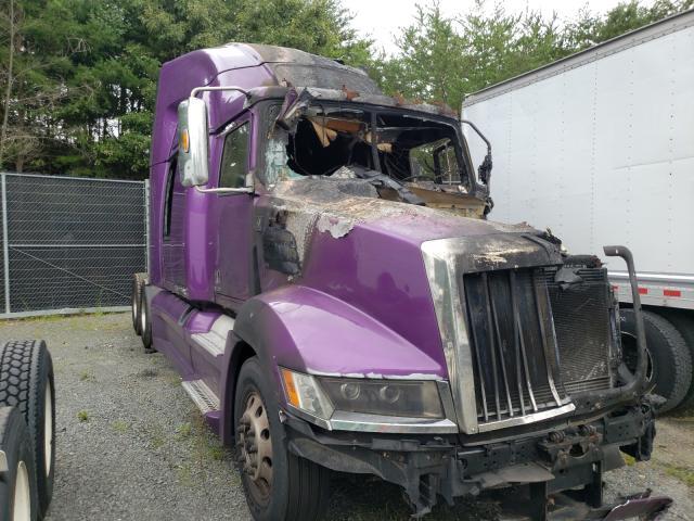 Vehiculos salvage en venta de Copart Waldorf, MD: 2018 Western Star 5700 XE