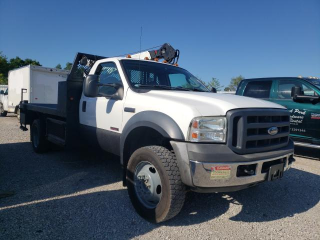 Salvage cars for sale from Copart Lexington, KY: 2006 Ford F550 Super
