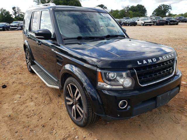 Land Rover salvage cars for sale: 2016 Land Rover LR4 HSE LU