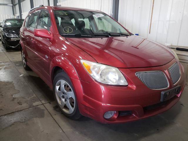 Pontiac salvage cars for sale: 2007 Pontiac Vibe