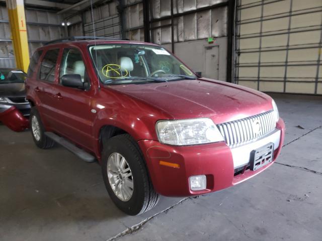 Mercury salvage cars for sale: 2006 Mercury Mariner
