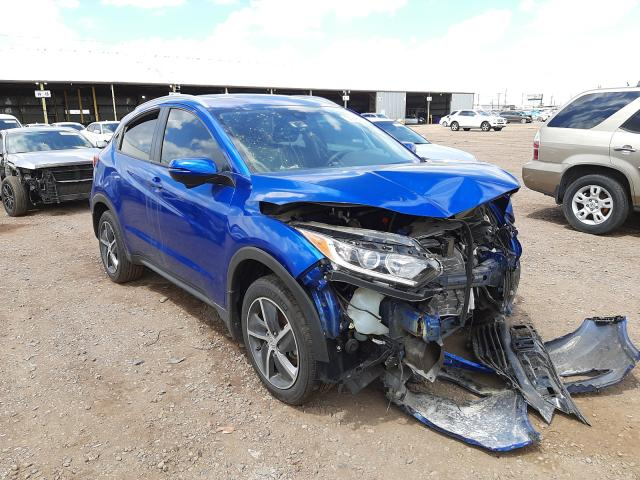 Salvage cars for sale from Copart Phoenix, AZ: 2021 Honda HR-V EX