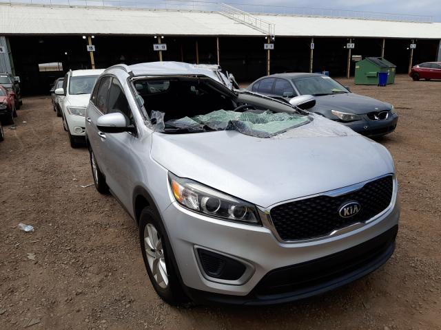 Salvage cars for sale from Copart Phoenix, AZ: 2017 KIA Sorento LX