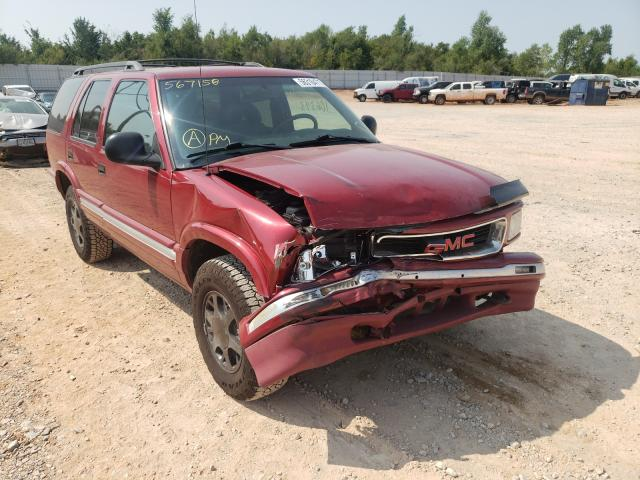 GMC Jimmy salvage cars for sale: 1996 GMC Jimmy