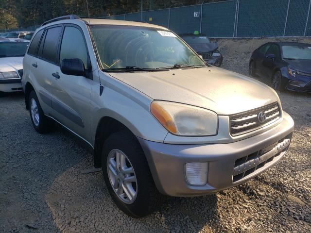 Salvage cars for sale from Copart Graham, WA: 2002 Toyota Rav4