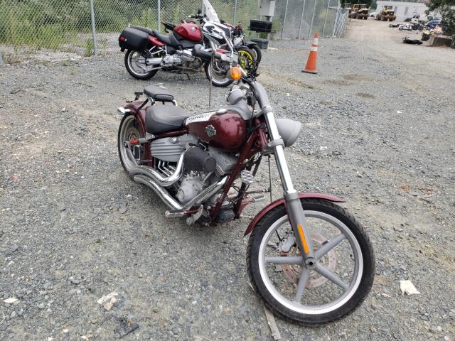 Salvage motorcycles for sale at Baltimore, MD auction: 2008 Harley-Davidson Fxcw
