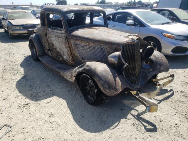 Ford T salvage cars for sale: 1933 Ford T